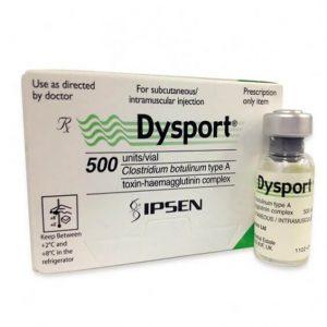 Dysport 500 units_vial